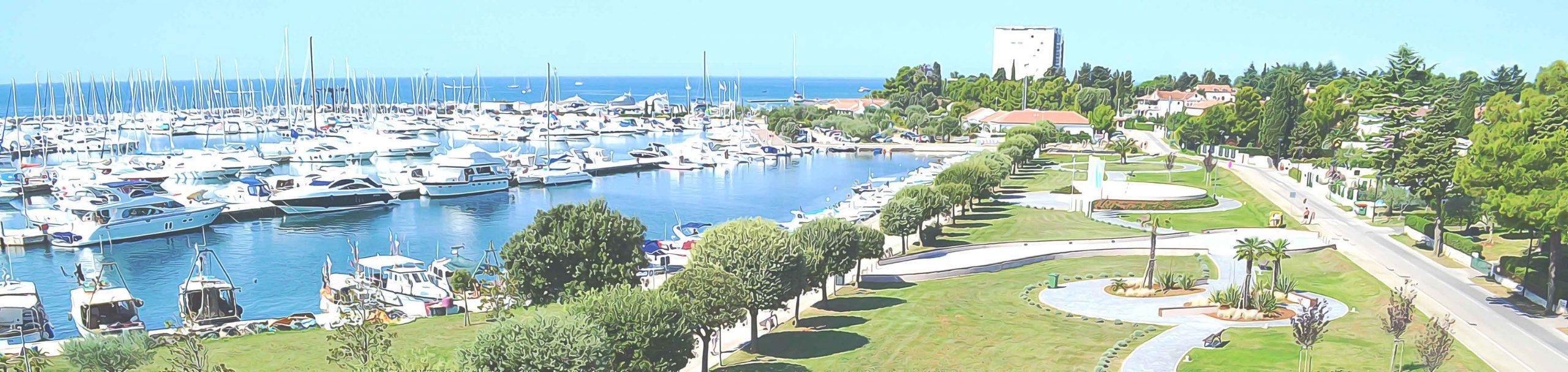 Marina, Humagum i Hotel Adriatic